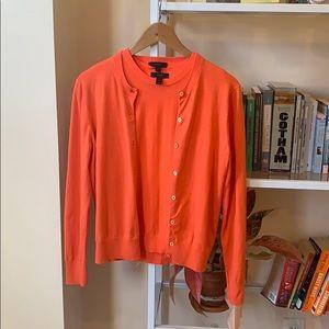 J. CREW Coral Neon Sweater Set